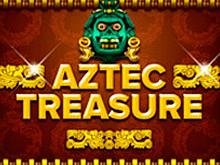 В казино на деньги автомат Aztec Treasure