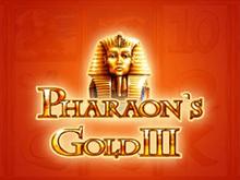 В казино на деньги автомат Pharaohs Gold III