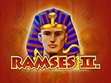 В онлайн казино автомат Ramses II