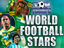 Азартная онлайн-игра Top Trumps World Football Stars