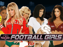 Игровой автомат Benchwarmer Football Girls онлайн
